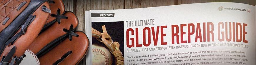 baseball glove repair