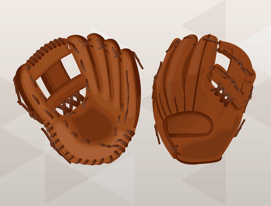 How to Replace Baseball Glove Web - Finished!