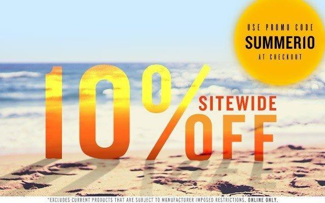 10% Off Entire Site