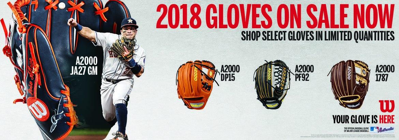 Wilson 2018 Glove Launch