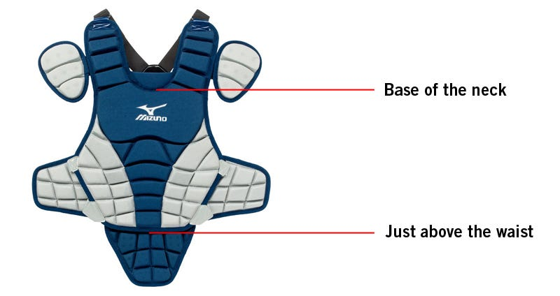 how-to-measure-baseball-softball-catcher-chest-protector-size